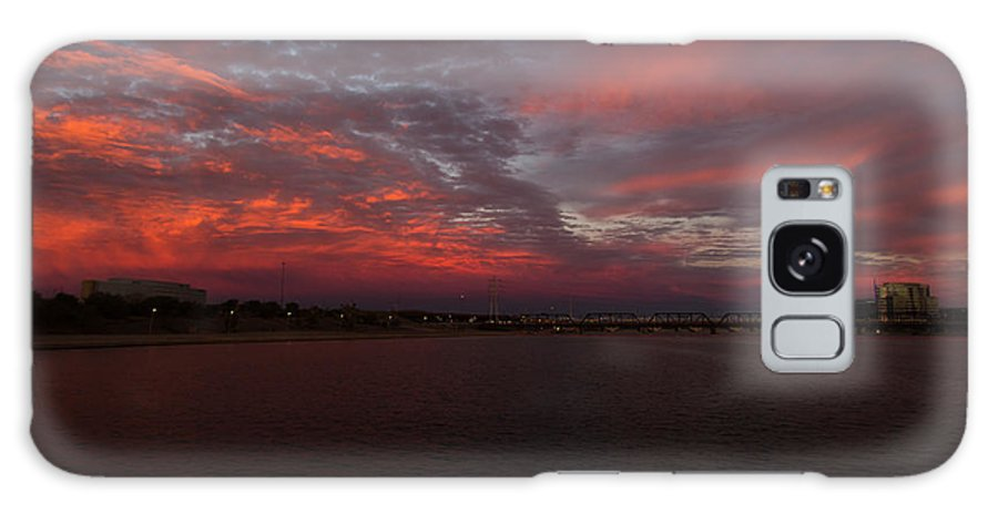 Tempe Galaxy S8 Case featuring the photograph Fire Sky by Steve Wile