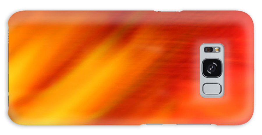 Abstract Galaxy S8 Case featuring the photograph Firelight O by Susan Herber