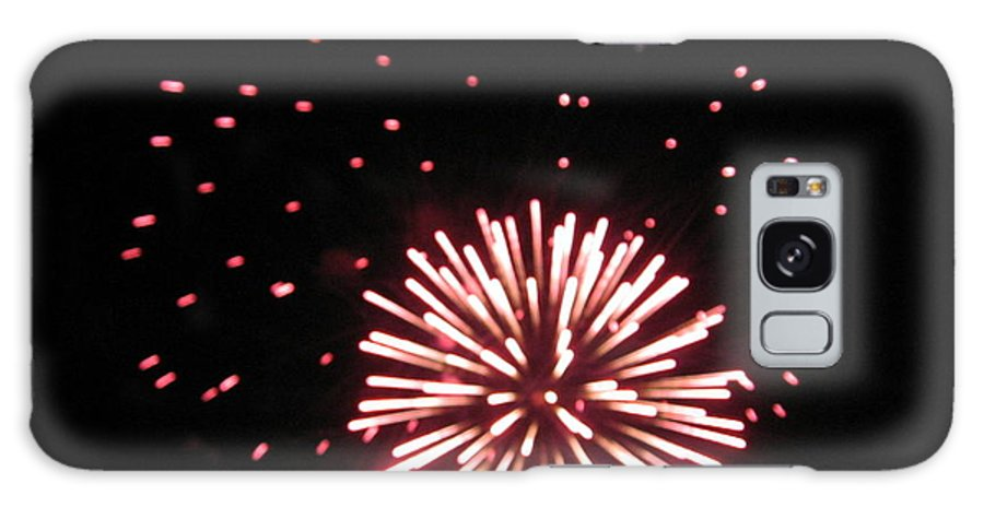 Fireworks Galaxy S8 Case featuring the photograph Fireworks 2 by Yuvonne Hogston