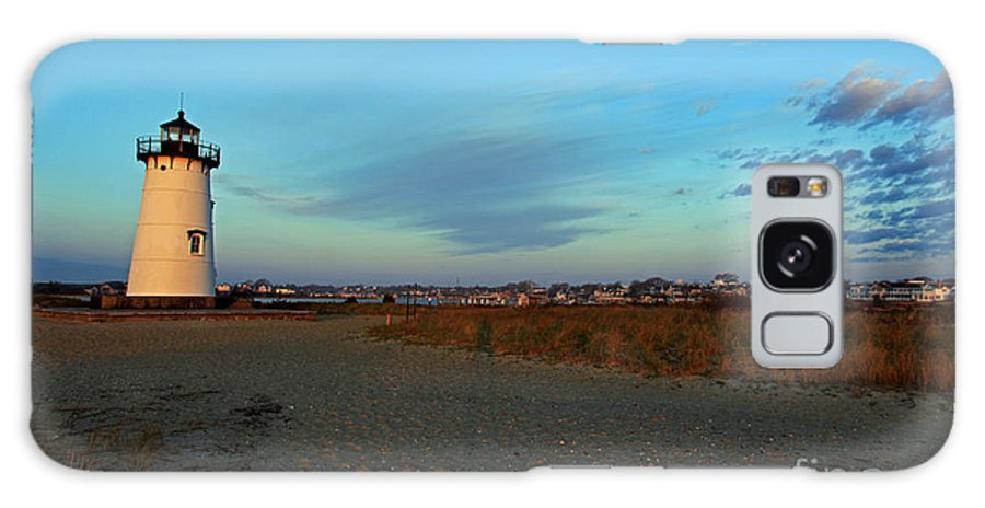 Edgartown Galaxy S8 Case featuring the photograph First Light Edgartown by Butch Lombardi