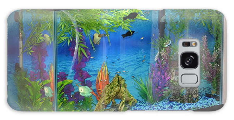 Fish Galaxy S8 Case featuring the photograph Fish Tank by Brenda Stone