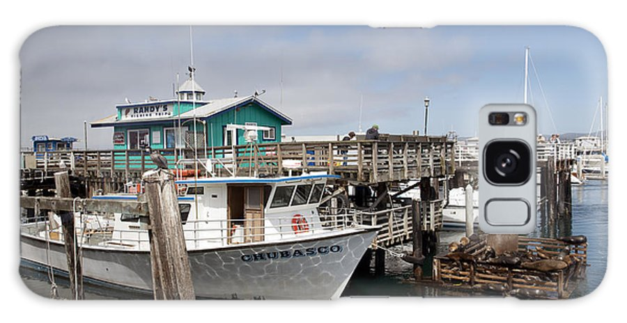 Fishermans Galaxy S8 Case featuring the photograph Fishermans Wharf In Monterey by Carol M Highsmith