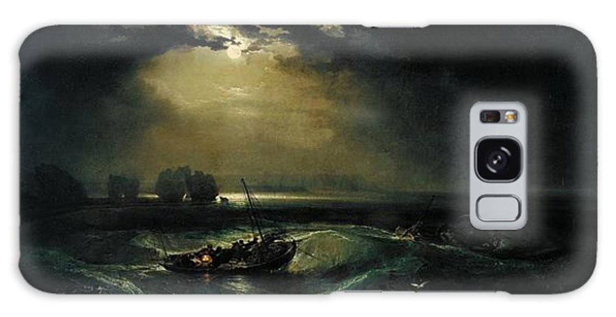 1796 Galaxy S8 Case featuring the painting Fishermen At Sea by JMW Turner