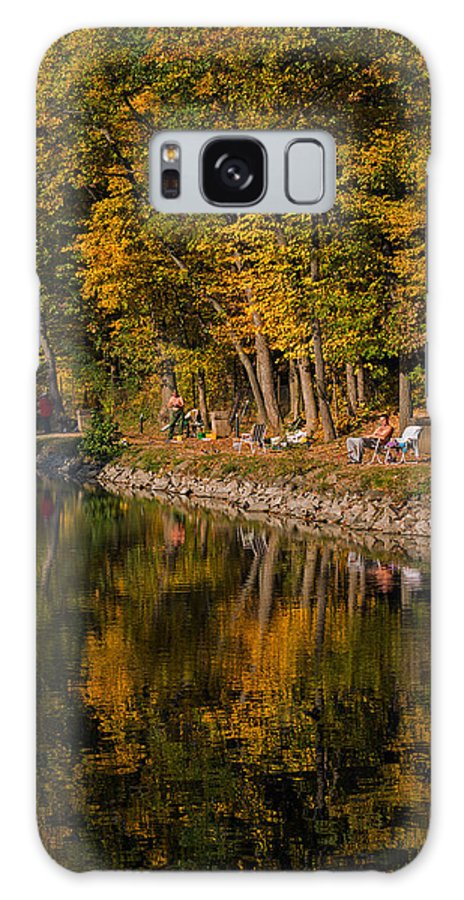 Landscape Galaxy S8 Case featuring the photograph Fishing by Adrian Stvorecz
