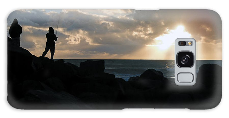 Fishing Galaxy S8 Case featuring the photograph Fishing Is Mediation by April Antonia