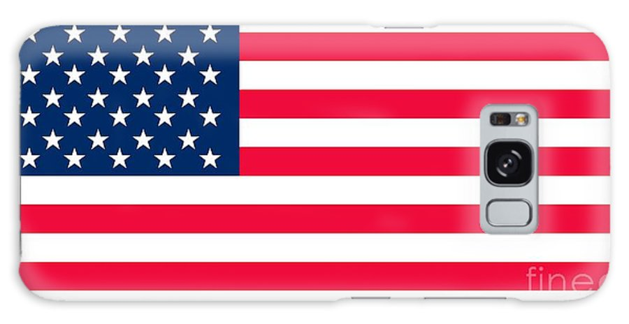 America Galaxy Case featuring the painting Flag Of The United States Of America by Anonymous