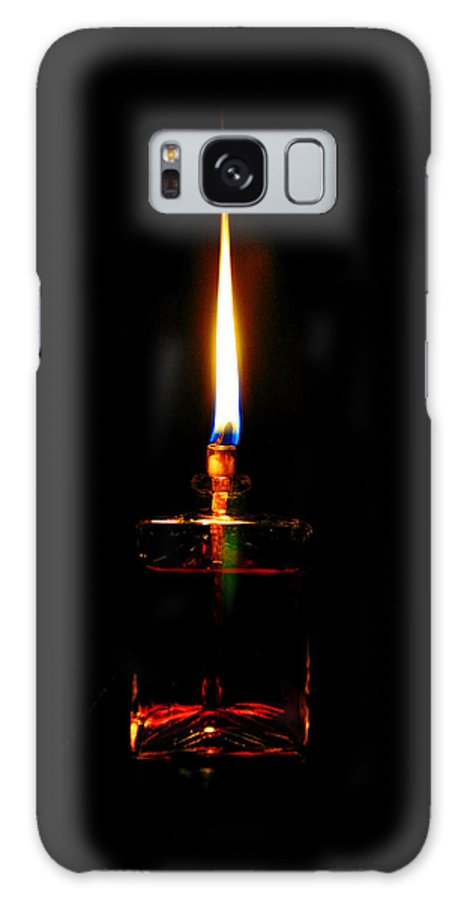 Flame Galaxy S8 Case featuring the photograph Flame by Savannah Gibbs