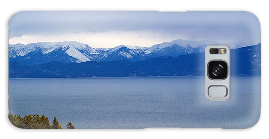 Galaxy S8 Case featuring the photograph Flathead Lake Winter by Heather Farr