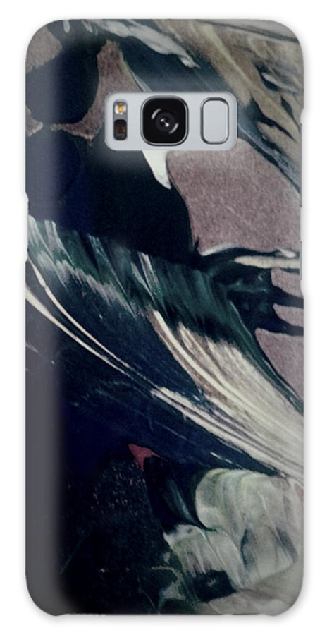 Abstract Galaxy S8 Case featuring the painting Fleeting Moment by Steven Stewart
