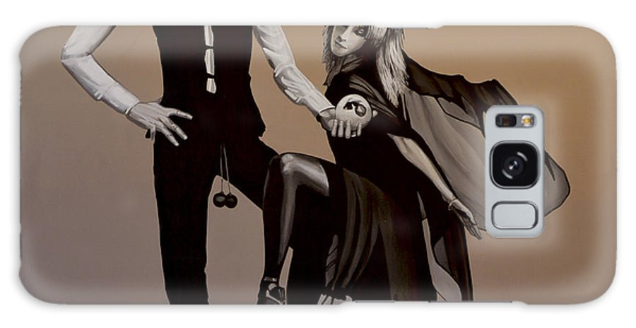 Fleetwood Mac Galaxy S8 Case featuring the painting Fleetwood Mac Rumours by Paul Meijering