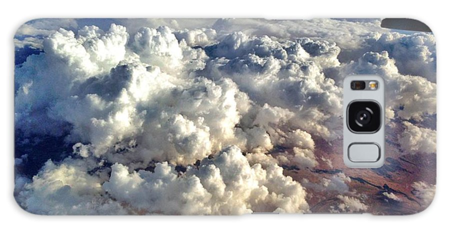 Clouds Galaxy S8 Case featuring the photograph Flight by Antonio Marquis