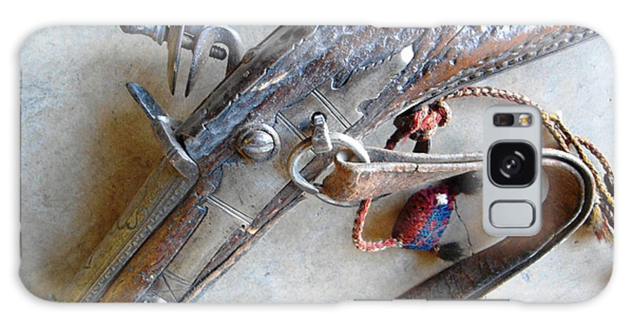 Musket Galaxy S8 Case featuring the photograph Flintlock Musket by Lovina Wright