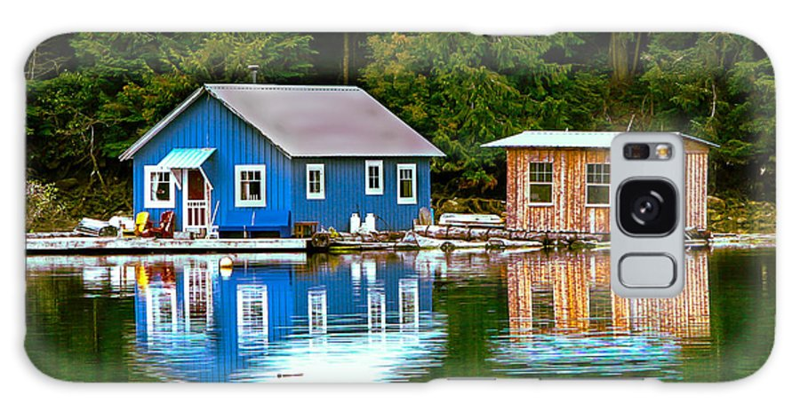 Floating Galaxy S8 Case featuring the photograph Floating Cabin by Robert Bales