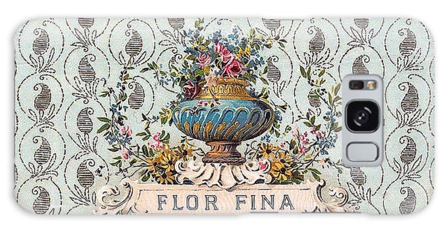 Studio Artist Galaxy S8 Case featuring the digital art Flor Fina by Studio Artist