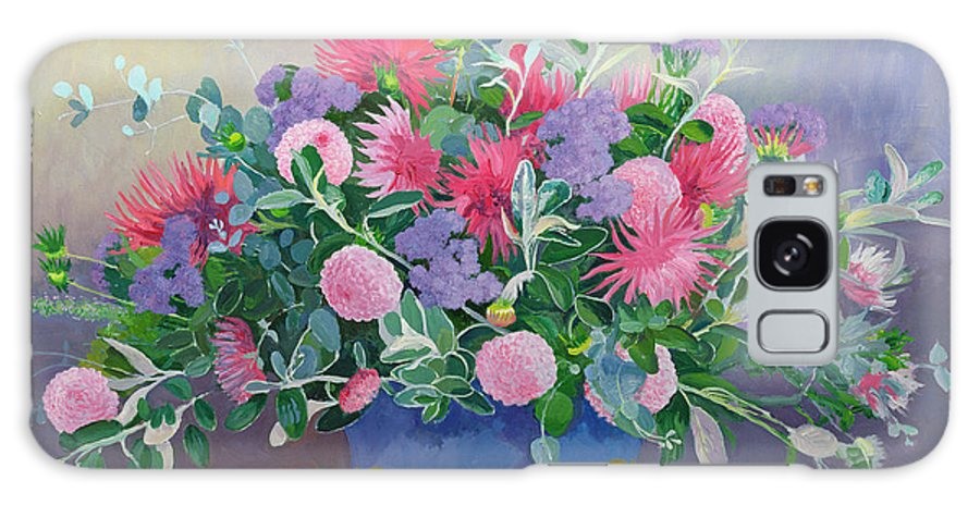 Flowers Galaxy S8 Case featuring the painting Floral Display by William Ireland