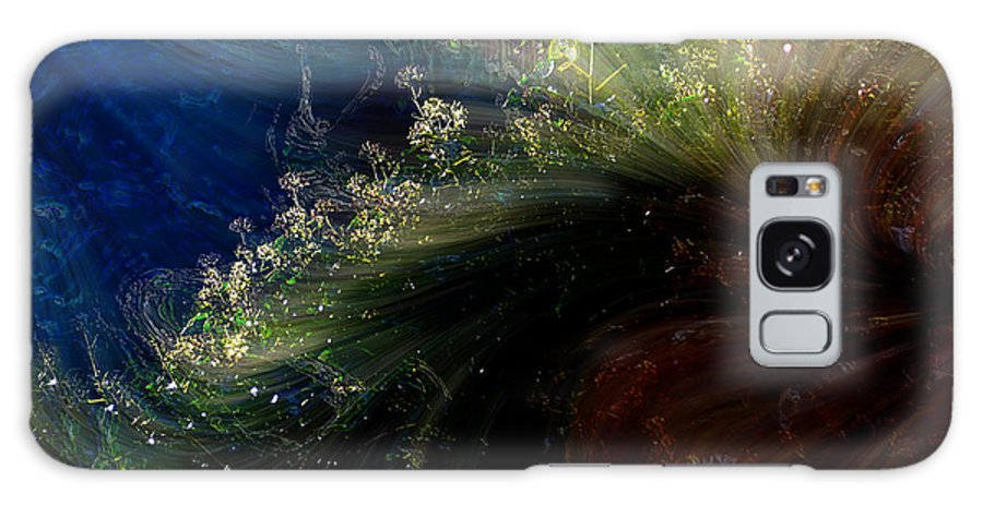 Abstract Galaxy S8 Case featuring the photograph Floral Fantasia by Richard Thomas
