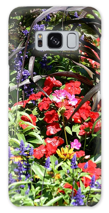 Flowers Galaxy S8 Case featuring the photograph Floral by Keith Eisenstadt