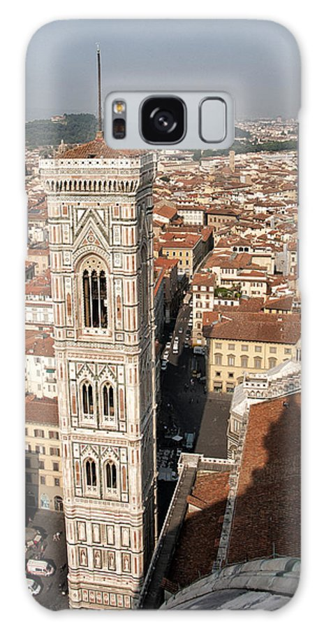Architecture Art Galaxy S8 Case featuring the photograph Florence From The Top Of Brunelleschi's Dome by Melany Sarafis