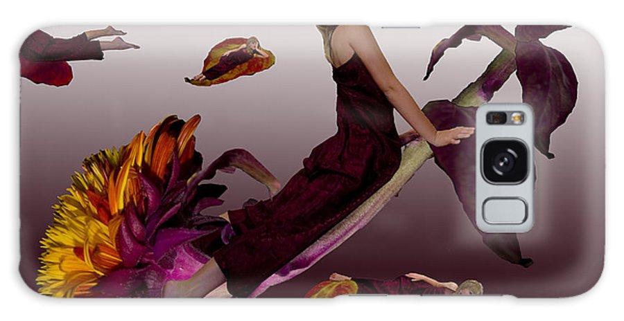 Children Galaxy S8 Case featuring the digital art Flower Stem by Angelika Drake