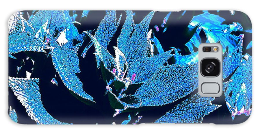 Leaf Galaxy S8 Case featuring the photograph Flowers Of The Night by Jesse Ciazza