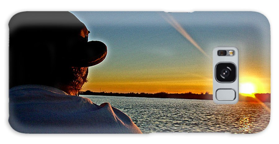 Sacramento River Delta Galaxy S8 Case featuring the photograph Going Fish'n by Joseph Coulombe