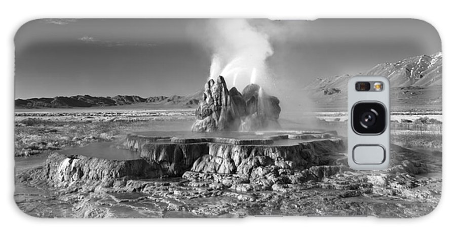 Landscape Galaxy S8 Case featuring the photograph Fly Geyser by Don Hall