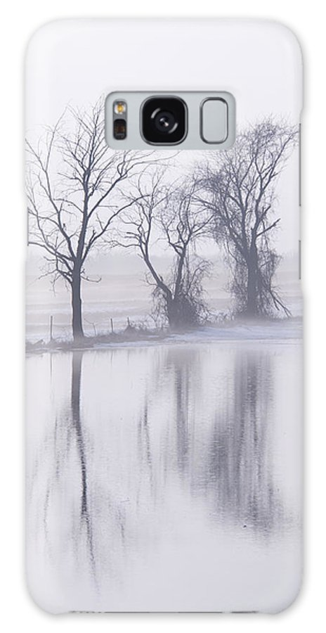 Landscape Galaxy S8 Case featuring the photograph Fog by Lindsey Weimer
