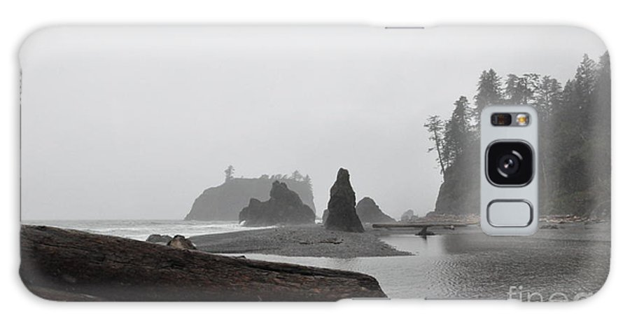 Morning Galaxy S8 Case featuring the photograph Foggy Morning On The Washington Coast by Tanya Searcy