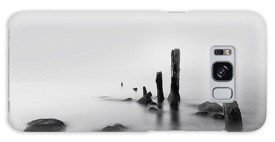 Beach Galaxy S8 Case featuring the photograph Foggy New England Sea by Stephanie McDowell