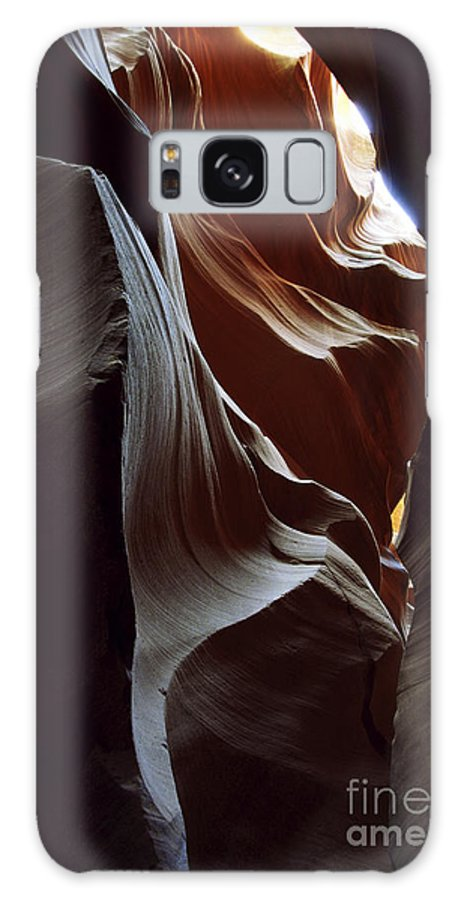 Antelope Canyon Galaxy S8 Case featuring the photograph Follow The Light by Kathy McClure