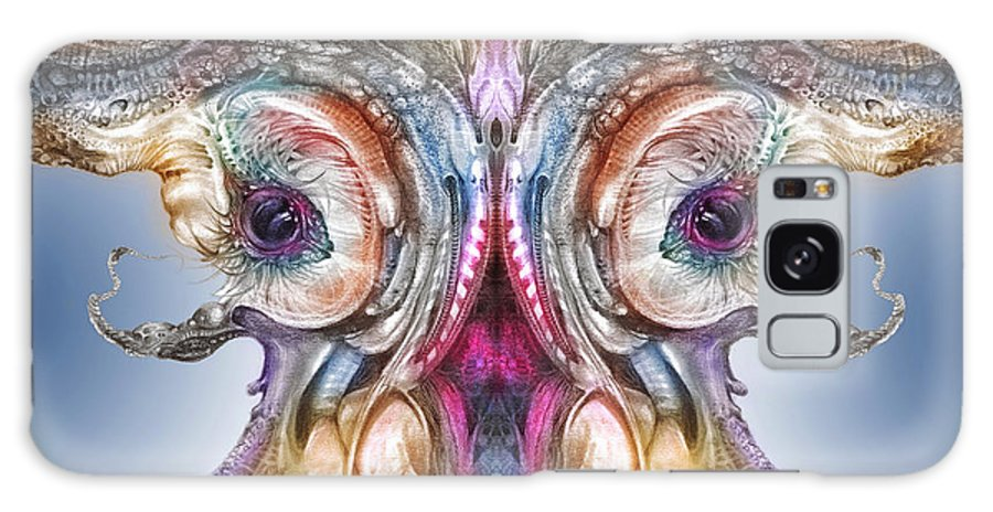 Otto Rapp Galaxy Case featuring the digital art Fomorii Incubator Remix by Otto Rapp