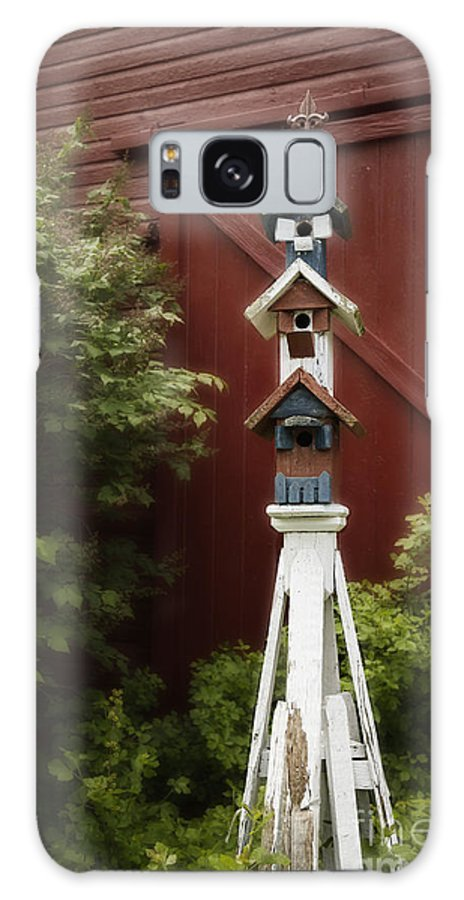 Barn Galaxy S8 Case featuring the photograph For The Birds by Margie Hurwich