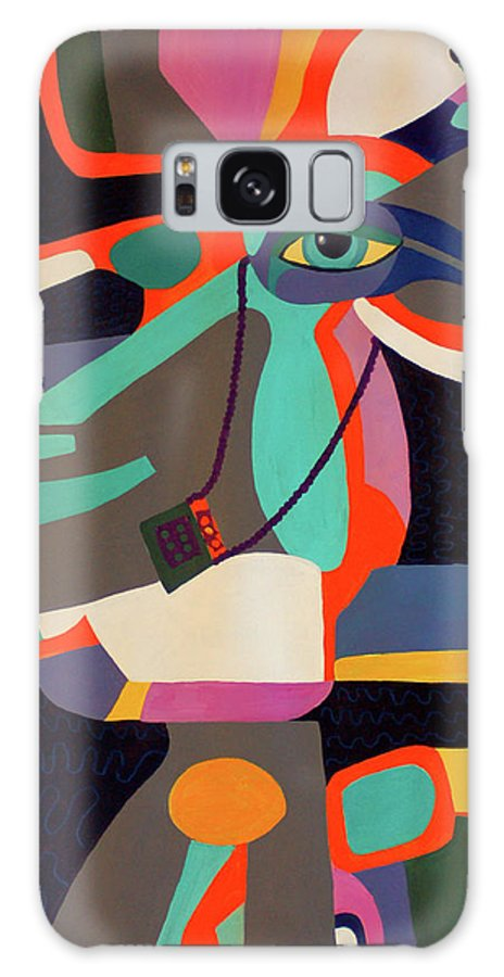 For Your Eyes Only Again Galaxy S8 Case featuring the painting For Your Eyes Only Again by Carolyn Dubuque