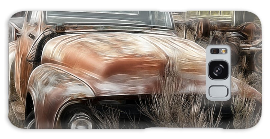 Ford Old Pickup Galaxy S8 Case featuring the photograph Ford Old Pickup by Wes and Dotty Weber