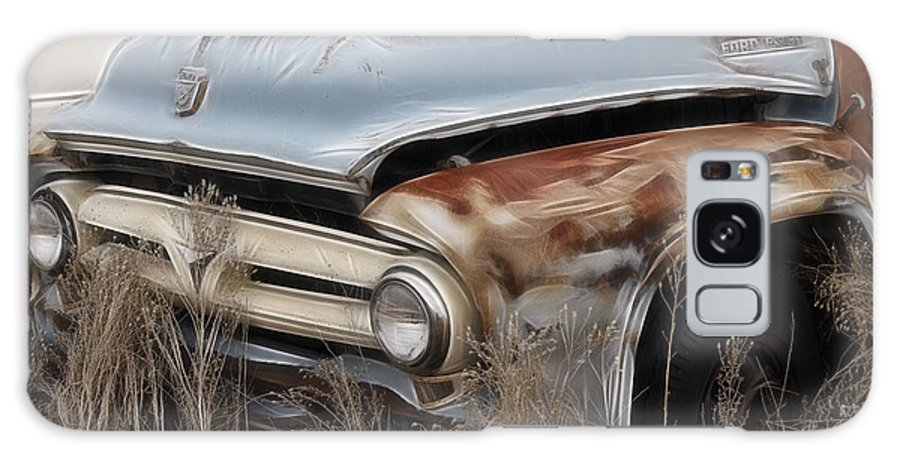Ford Truck Old F350 Galaxy S8 Case featuring the photograph Ford Truck Old F350 by Wes and Dotty Weber