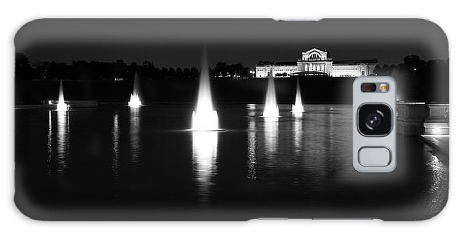 St. Louis Galaxy S8 Case featuring the photograph Forest Park Grand Basin by Scott Rackers
