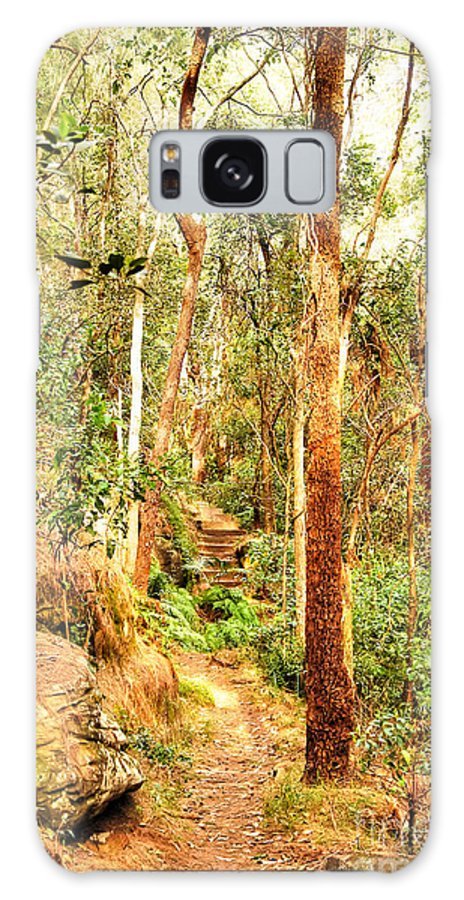 Forest Galaxy S8 Case featuring the photograph Forest Walk 7 by Christopher Edmunds