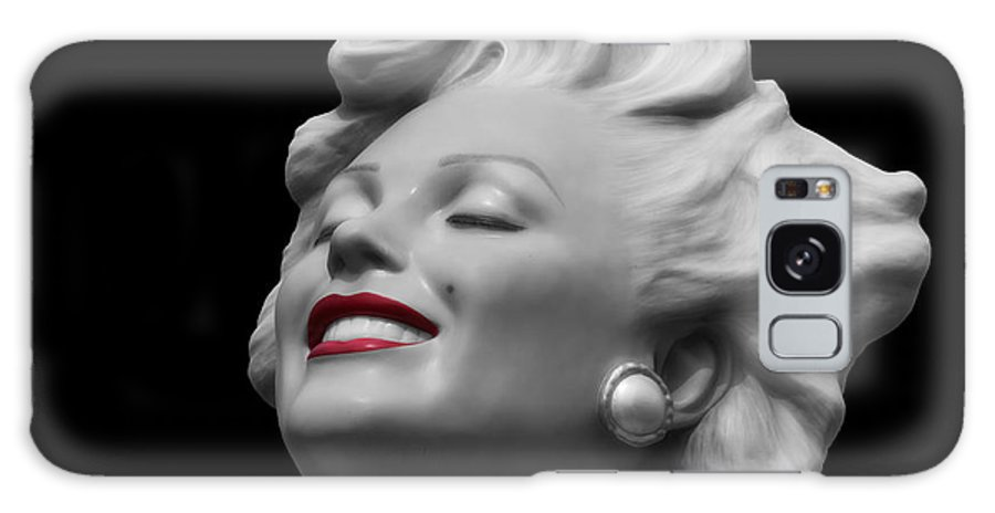 Marilyn Monroe Galaxy S8 Case featuring the photograph Forever Marilyn by Linda Dunn