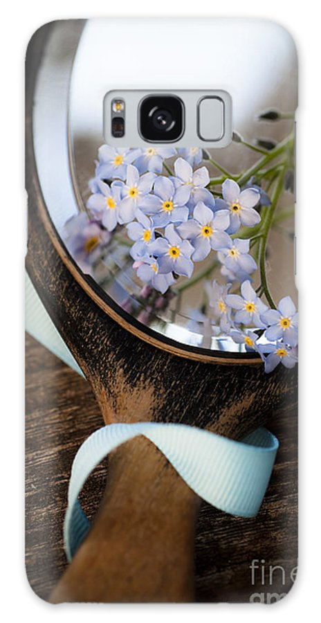 Flower Galaxy S8 Case featuring the photograph Forget Me Not by Jan Bickerton