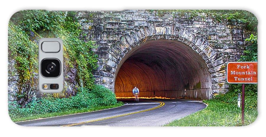 Blue Ridge Parkway Galaxy S8 Case featuring the photograph Fork Mountain Tunnel by John Haldane