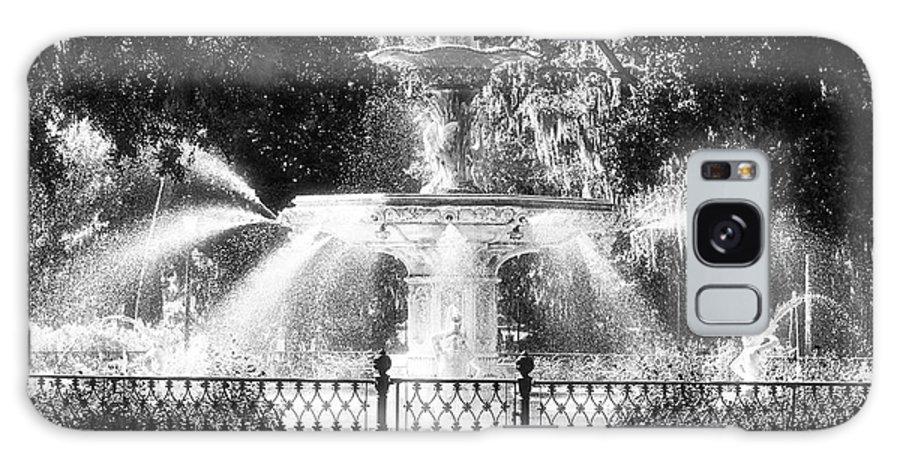 Forsyth Park Fountain Galaxy S8 Case featuring the photograph Forsyth Park Fountain by John Rizzuto