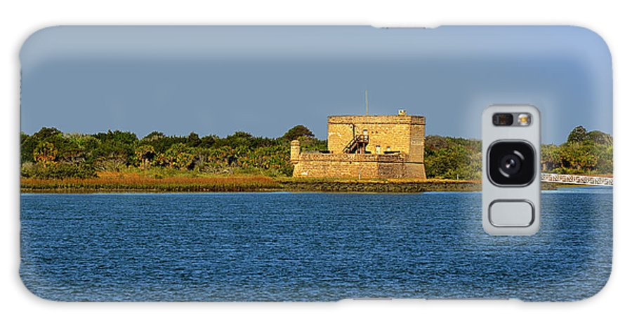 Fort Galaxy S8 Case featuring the photograph Fort Matanzas - Saint Augustine Florida by Christine Till