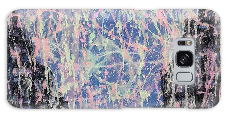 Abstraction Galaxy S8 Case featuring the painting Fourth Of July by Yuriy Vekshinskiy