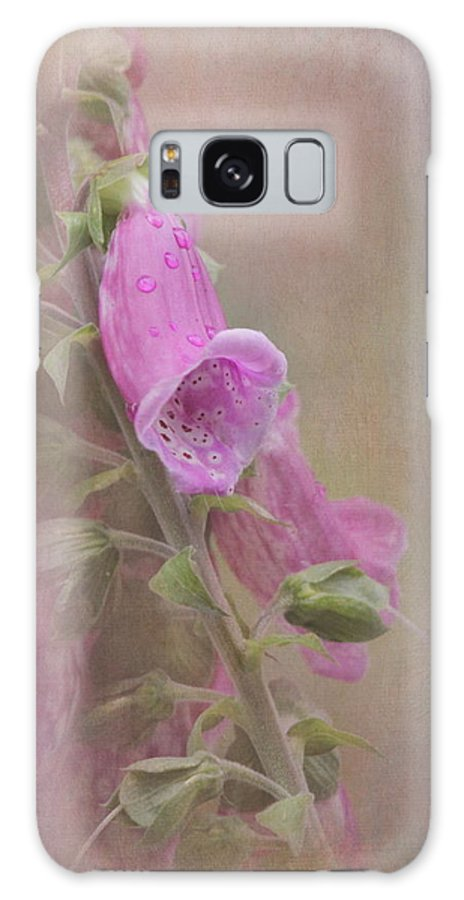 Foxglove Galaxy S8 Case featuring the photograph Foxglove by Angie Vogel