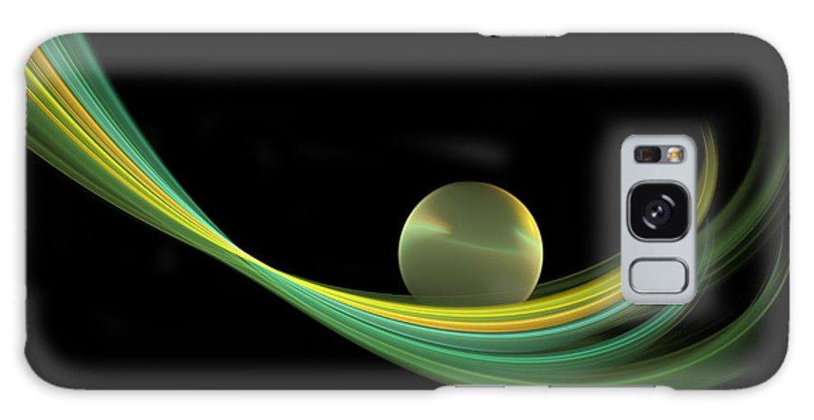 Digital Art Galaxy S8 Case featuring the digital art Fractal Balance by Gabiw Art