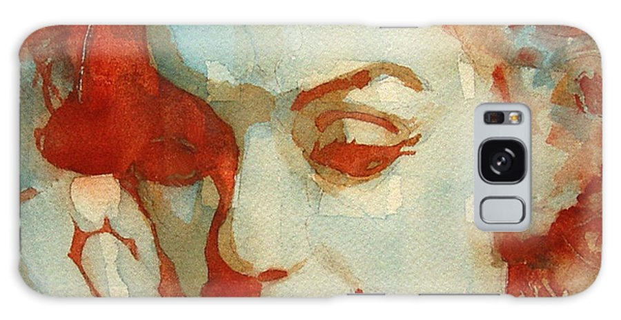 Marilyn Monroe Galaxy Case featuring the painting Fragile by Paul Lovering