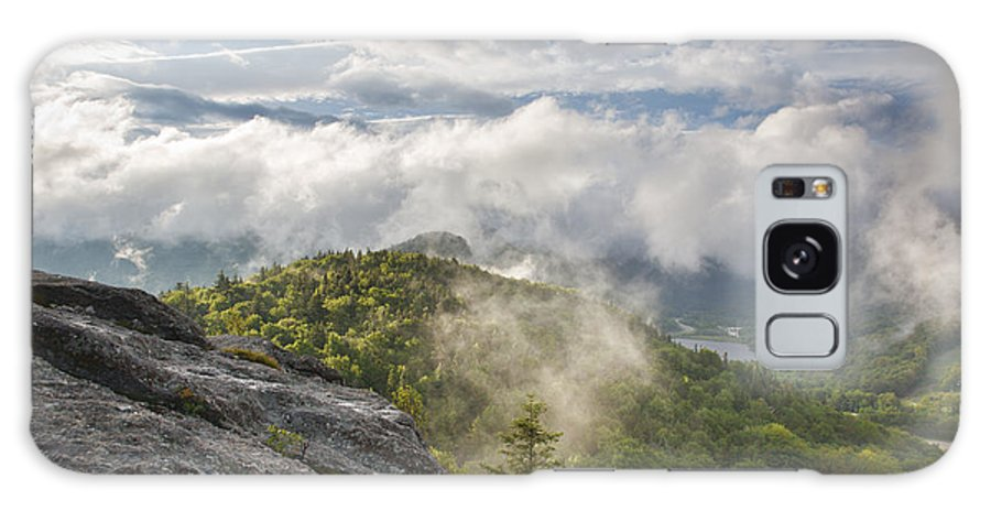 Atmosphere Galaxy S8 Case featuring the photograph Franconia Notch State Park - New Hampshire White Mountains by Erin Paul Donovan