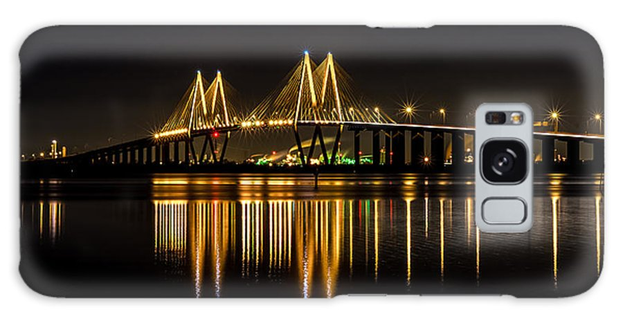 Fred Hartman Bridge Galaxy S8 Case featuring the photograph Fred Hartman Bridge by David Morefield