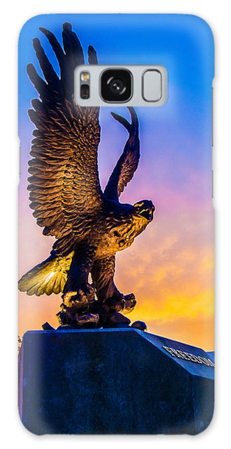 Freedom Galaxy S8 Case featuring the photograph Freedom Bird by Jon Cody