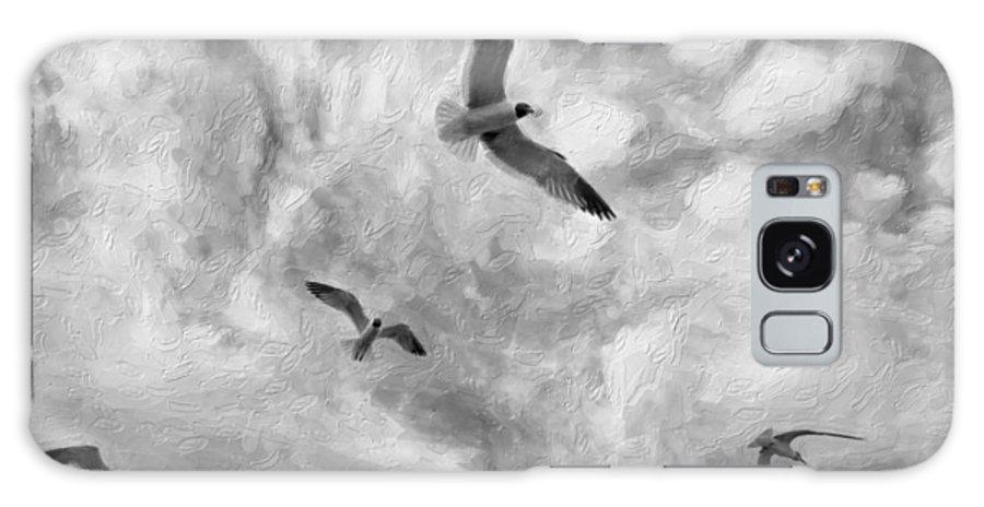 Nola Galaxy S8 Case featuring the photograph Freedom Impasto Bw by Steve Harrington